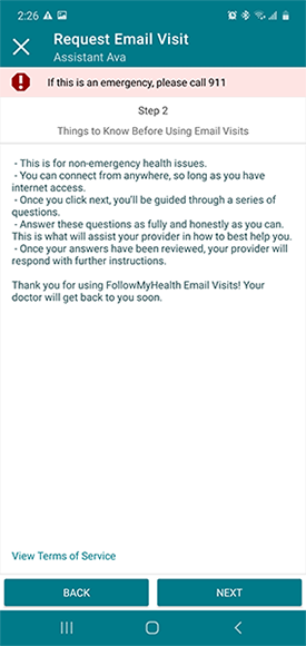 things to know before using email visit